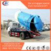 下水道の吸引のタンク車Dongfengトラックを吸う下水5000リットルの