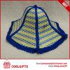 Sombrero del ventilador de la paja de los dobleces de la venta al por mayor 6 para viajar y el regalo