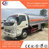 軽いディーゼル油配達のための5000L炭素鋼の燃料タンクのトラック