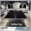 Café do preto quente da venda/tabela de jantar superiores de mármore ao ar livre naturais
