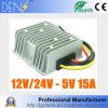 C.C. do conversor 8-36V de DC/DC ao regulador abaixador da fonte de alimentação do diodo emissor de luz de 5V 15A 75W