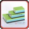 Gevoerde Notitieboekje van het Leer van de Sluiting Pu van de Gift van de douane het Elastische Jotter