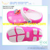 New Current Syle Kids Clog de cor brilhante com TPE superior