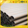 Tubo y tubo de aluminio de aluminio anodizados fábrica de la voladura de arena