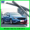 Дефлектор предохранителя дождя забрала дождя автомобиля набора тела автомобиля для Benz A180 2013