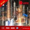 todavía crisoles dobles 500L-1000L con el equipo de la destilación del estilo de la columna/dos crisoles del cobre de placas para la venta