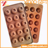 カスタム高品質のKetchenwareのシリコーンチョコレート型(YB-HR-123)