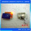 Kundenspezifisches modernes grelles Metallabzeichen und Kurbelgehäuse-Belüftung gedrucktes Epoxidabzeichen