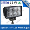 lámpara del trabajo del punto de la luz 18W del trabajo de la máquina de 12/24V LED
