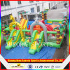 Children al aire libre Playground Amusement Park con Bouncer Slide