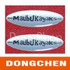 Etiqueta engomada de epoxy cristalina adhesiva fuerte de la alta calidad