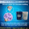 Schokoladen-Form, die RTV flüssigen Silikon-Gummi bildet