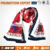 Sciarpa personalizzata promozionale della seta di marca