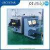 Dos máquinas de la investigación del rayo de los monitores X con la alarma del sonido y de la luz