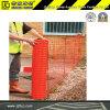 Cerca de seguridad anaranjada plástica de construcción