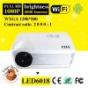 360 proyector androide del tirón LED6018 WiFi 3D de Degress