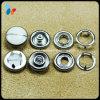 Type rupture de fourche en métal sur le bouton pour le vêtement