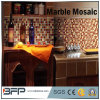 Mattonelle decorative del mosaico di pietra di marmo del medaglione