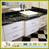 Black Marquina Marble Vanity Top for Hotel Bathroom