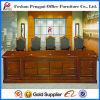 Court를 위한 주문을 받아서 만들어진 브라운 Wooden Meeting Table