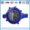 Contador multi de la agua fría del jet de Dn15mm del contador del agua plástico del ABS