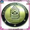 Moneta di sfida del metallo con l'incisione di marchio 3D