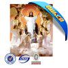 Het hoogste Verkopende 3D Beeld van Jesus van het Huisdier Materiële