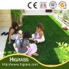 総合的な庭の装飾のための芝生によって修飾される景色の人工的な芝生