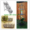 금속 플랜트 대, 정원 금속 재배자, 정원 안뜰 가구 (AD-GDS-9870)