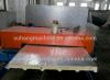 高速セリウムおよびISO Certificated PU Integrated Ceiling Sandiwich Panel Line