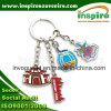 Parte Theme Fancy Metal Charms Keyring per Promotion