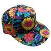 Gorra de béisbol floral Sb1589 de la tela del Snapback