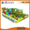 Спортивная площадка крытая, скольжение детей джунглей игры занятности малышей