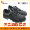 Punta Acero Zapatos de ancho Tapa de seguridad con Nubuck Snn4225
