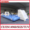 Color blu Mini Inflatable Soccer Field per Kids (J-SG-003)