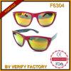Торговый оптовые модные солнечные очки отразили фабрику Кита (F6304)