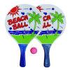 As raquetes de tênis da tabela da praia, vêm em projetos diferentes