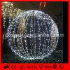 LEDの白い球のクリスマスの照明のハングの球のモチーフライト