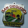 Running su ordinazione Half Marathon Soft Enamel Medal con Ribbon
