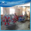 Chaîne de production ondulée à mur unique de pipe de conduit de PE de PVC électrique en plastique