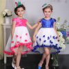 Тучное Children Flower Girl Dresses, Kids Wedding Dress с Butterfly