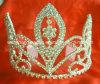 Coroa H-38042 da tiara da representação histórica do Rhinestone, tiara Wedding, acessórios do cabelo da forma, tiara