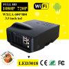 50-100 bourdonnement d'image de pouce projecteur de WiFi Projectorvideo de 1500 lumens avec l'affichage à LED
