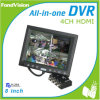 4 IP Camera em Total 4CH DVR Kit, LCD Touched