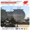 3 Aanhangwagen van de Tanker van de Vloeistoffen van assen de Chemische voor Vervoer van het Hydroxyde van het Ammonium