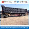 화물 상자 세 배 차축 60 톤 무거운 덤프 트레일러