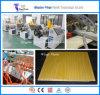 Machines/profil d'extrudeuse de panneau de mur de PVC faisant la ligne de production à la machine