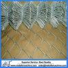 亜鉛によって塗られる電流を通されたチェーン・リンクの金網