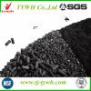 Structure moléculaire de charbon actif