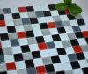 Mattonelle di mosaico di cristallo di vetro di colori Mixed (TG-LB-017)